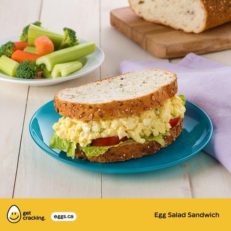 Egg Salad Sandwich | Eggs.ca | #GetCracking #Eggs #Picnic