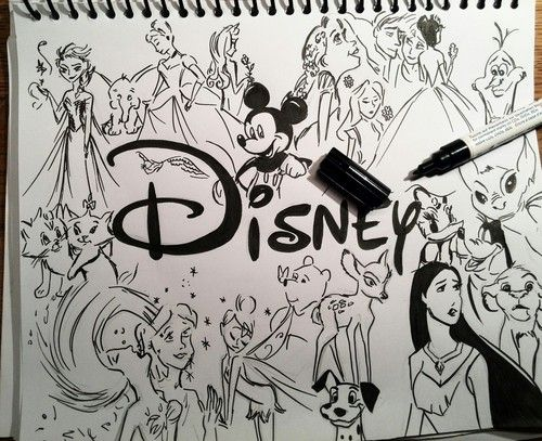 Drawings & Disney by Clarissa787 on We Heart It