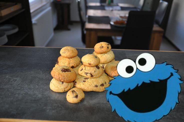die besten Chocolate Chip Cookies Rezept | Die Lieblingskekse vom Krümel...