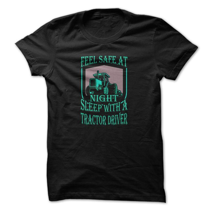 Tracktor driver t-shirt - Safe with tractor driver