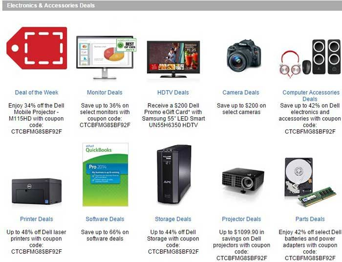 Dell accessories coupon code