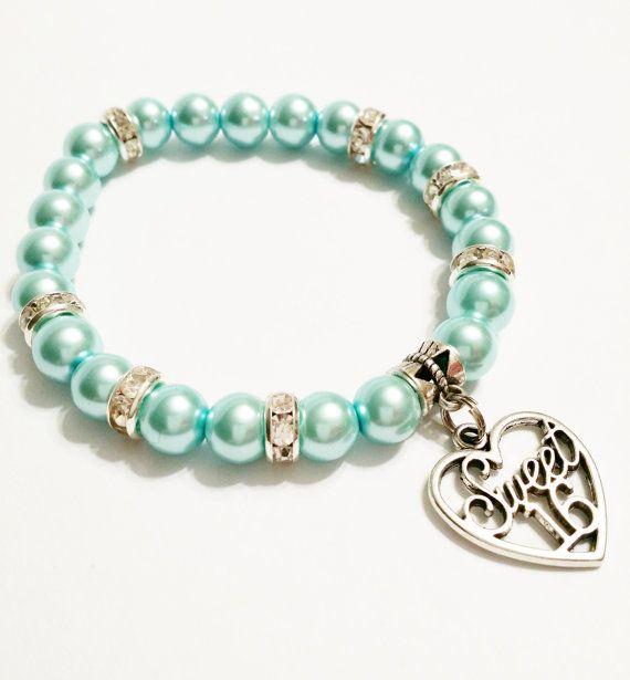 Sweet 16 Pearl Bracelet  Sweet Sixteen by VickysLittleSecrets