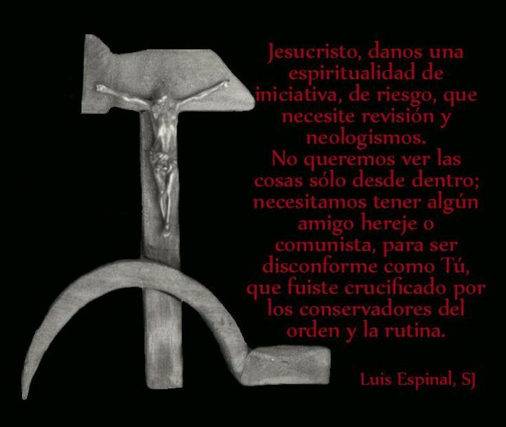 """A propósito de la Cruz de #LuisEspinal que ha sido tratada como """"Crucifijo comunista"""" """"oxímoron""""y """"regalo insultante"""""""