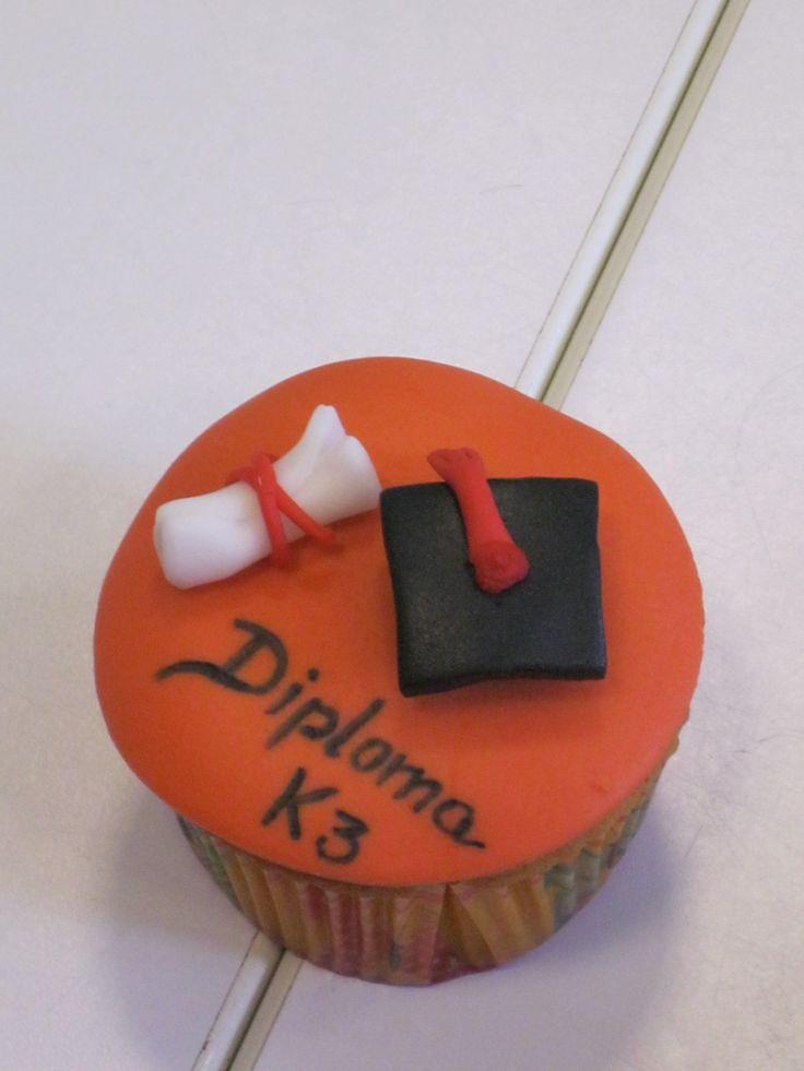 cupcake kleuterdiploma