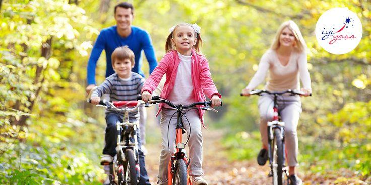 Fiziksel aktiviteye bakış açınız, çocuklarınızı da etkiler ve onların ilerleyen yaşlardaki alışkanlıklarını belirler.