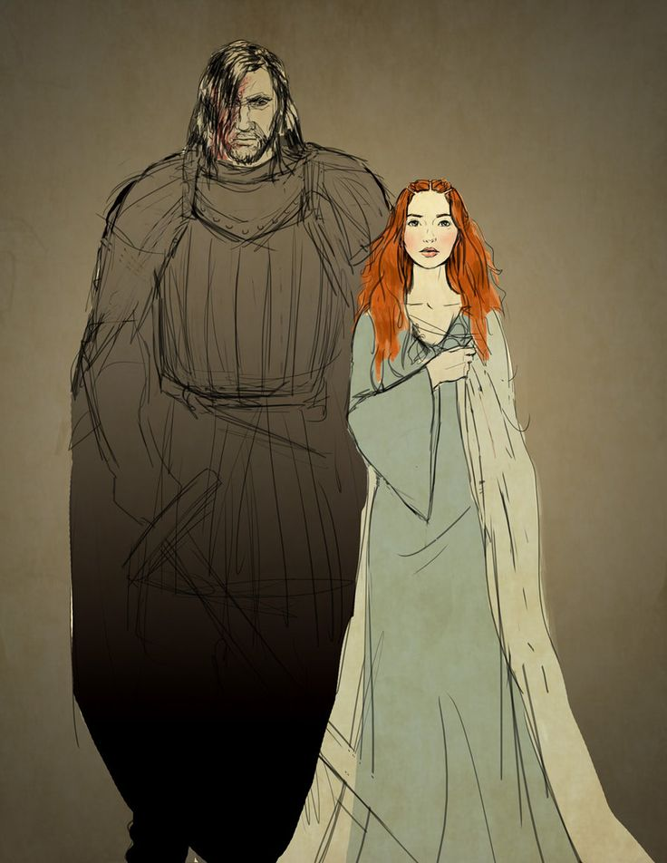 Sandor and Sansa - A Song of Ice and Fire   # Pinterest++ for iPad #