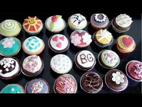 12 best images about cupcakes decoreren on pinterest cupcake icing designs nutella and. Black Bedroom Furniture Sets. Home Design Ideas
