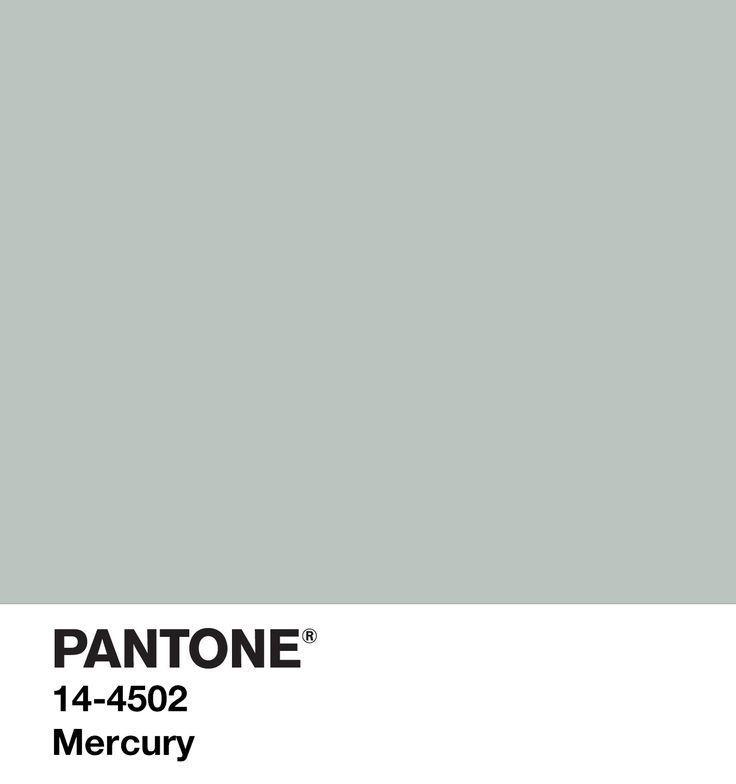 Mercury Pantone | inspire // color in 2019 | Pantone, Color