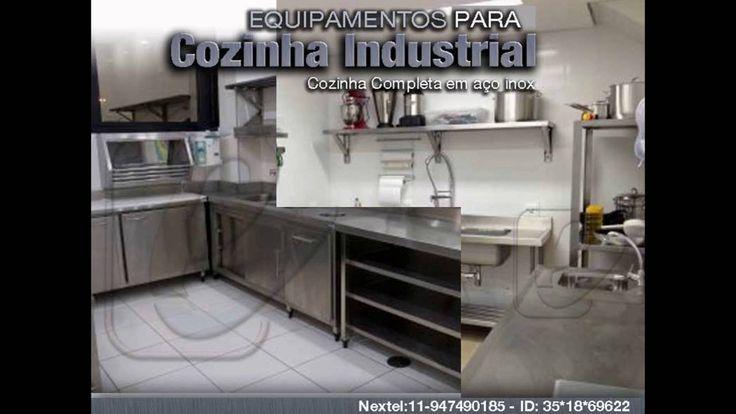 Cozinha Industrial total em aço inox