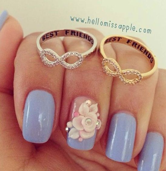 Friendship infinity rings