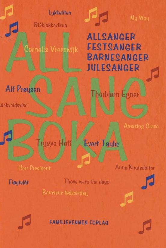 Allsangboka, Familievennen Forlag.