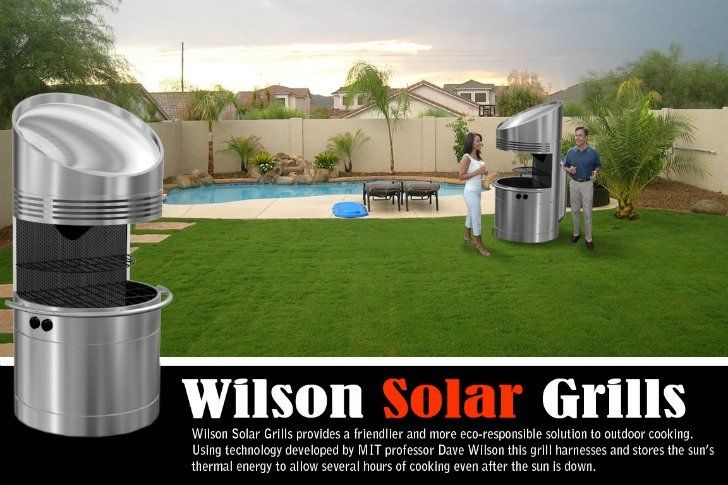 Wilson Solar Grill Cocina De Dia Y De Noche Con Energia Solar Energia Solar Proyectos De Energia Solar Cocina Solar