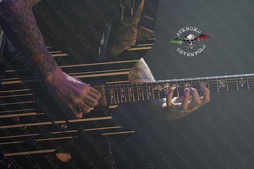 Avenged Sevenfold - Mediolanum Forum - Milano - 23/11/2013  Foto di Francesco Sciolti per Avenged Sevenfold Italia