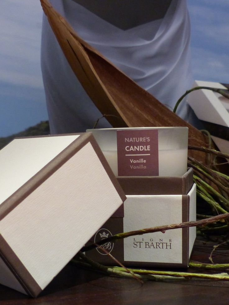 for a good scent: perfumed #candle by LIGNE St. Barth