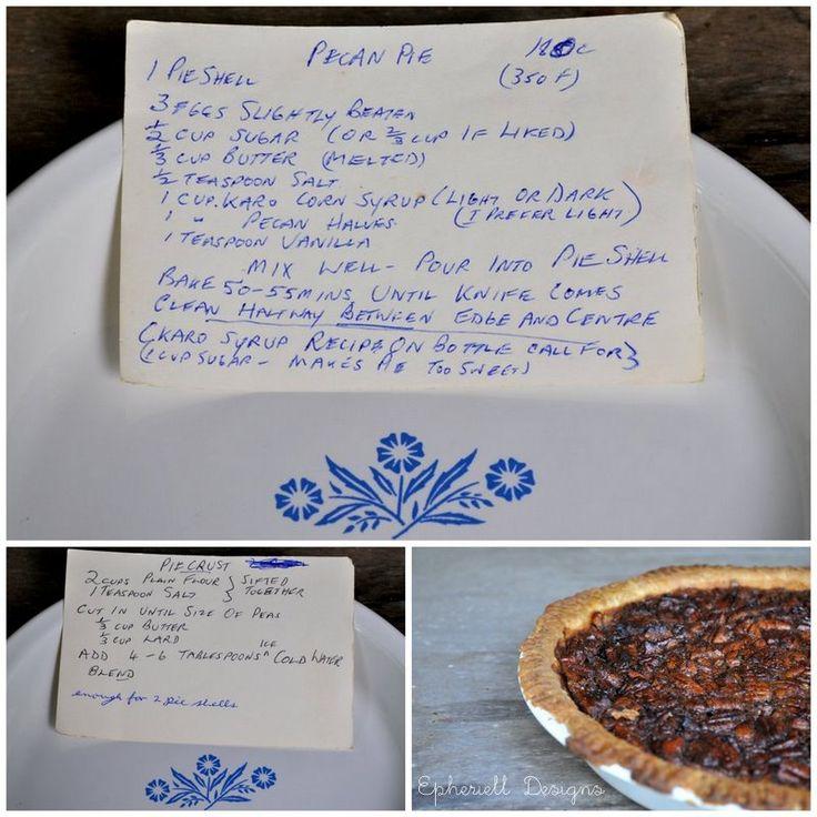 Granny S Pecan Pie Pecan Pie Food Drinks Dessert Holiday Baking