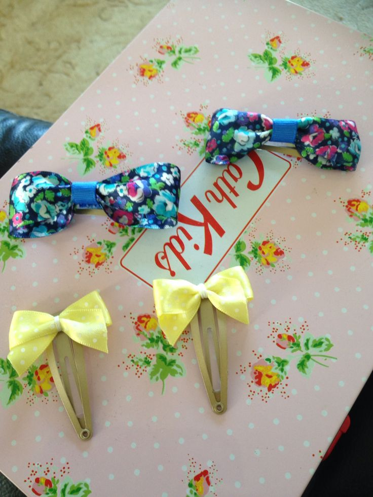 Home made hair bows