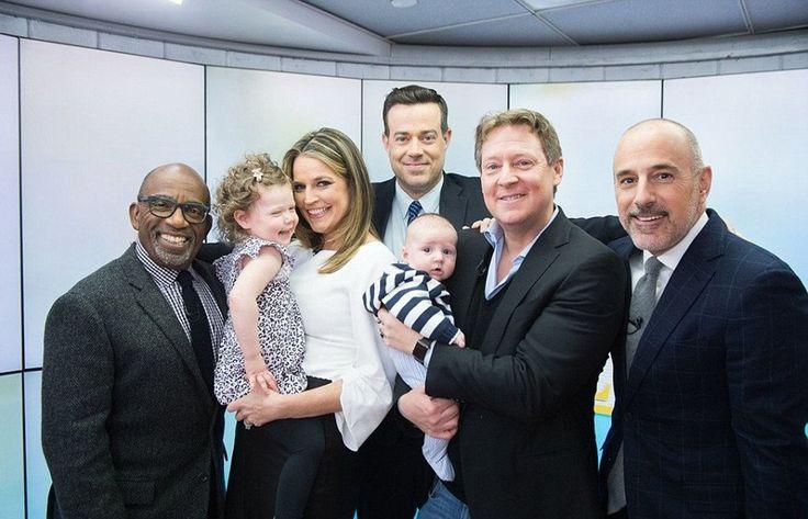 Savannah Guthrie Debuts New Baby Charley On 'Today' Show #SavannahGuthrie celebrityinsider.org #TVShows #celebrityinsider #celebrities #celebrity #rumors #gossip #celebritynews