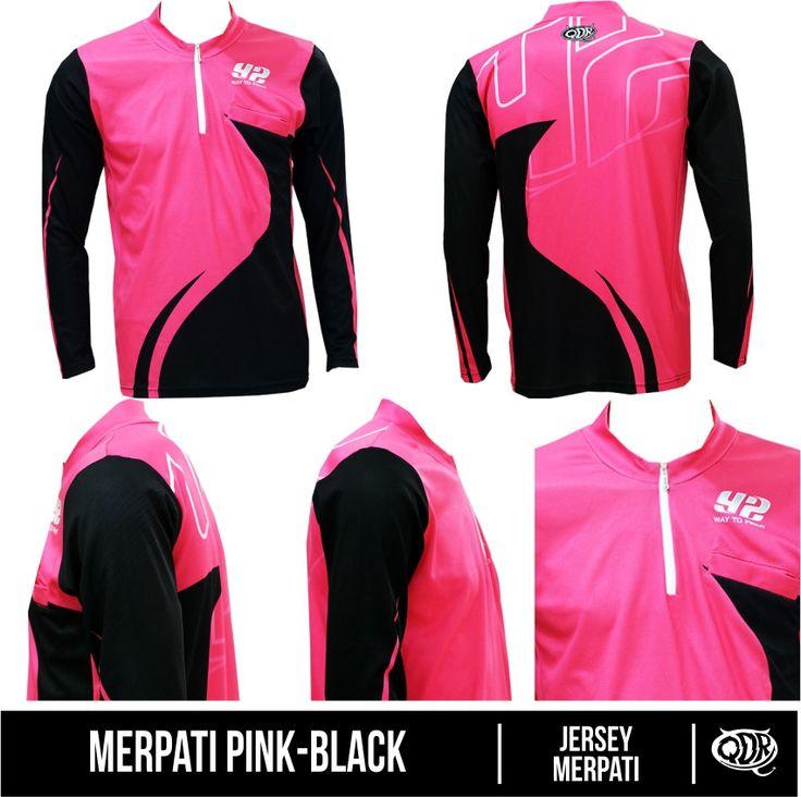 Merpati Pink-Black (Jersey Merpati) Bahan: Dry-fit printing: sublimasi untuk pemesanan: BBM D5443117 Qdr online shop WA/LINE 081222970120