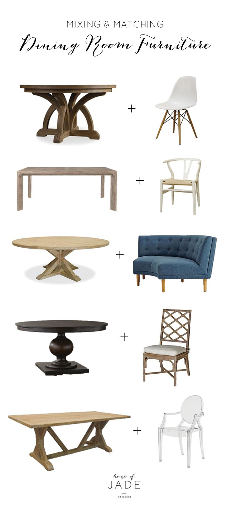 Ideas about mixed dining chairs on pinterest
