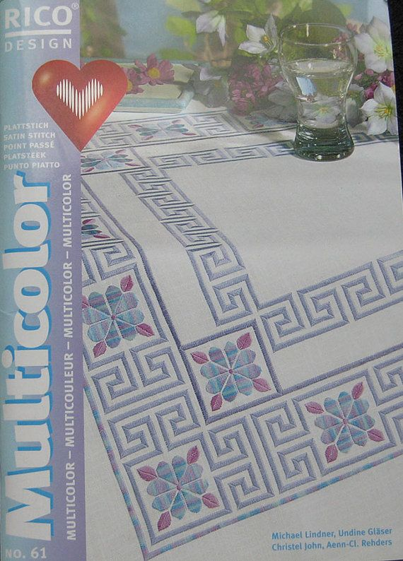 Rico Design Multicolor Embroidery Book  61 by TheHowlingHag, $14.95