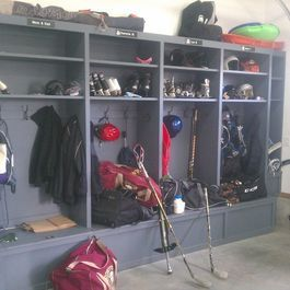 Custom Built Storage Lockers Newton Ma Traditional