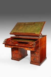 George III Architects Table    Attributed to Gillows