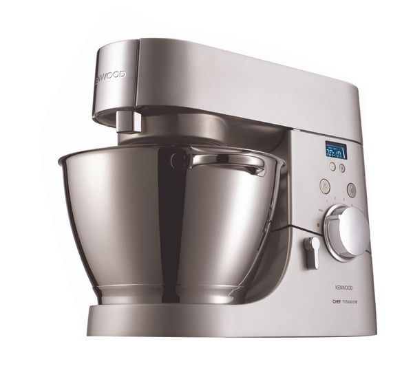 Buy KENWOOD KMC030 Titanium Chef Food Mixer - Silver | Free Delivery | Currys