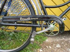 Ladies bicycle Phillips Supreme, 1939 | Eesti Jalgrattamuuseum