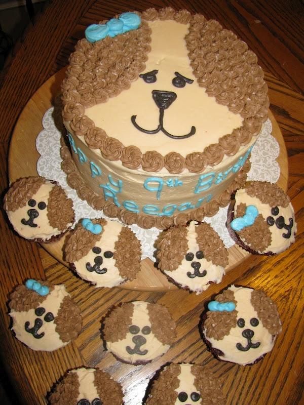 Baking Love and Joy: Puppy Dog Cake