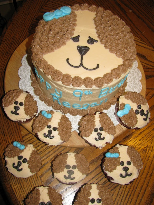 puppy birthday cake 25 best ideas about puppy cupcakes on 6866