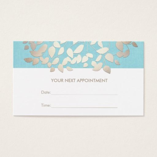 387 Best Appointment Reminder Business Cards Images On