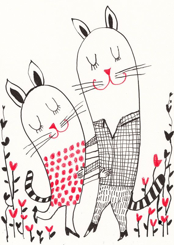 Dance of Love by Tosya   Etsy