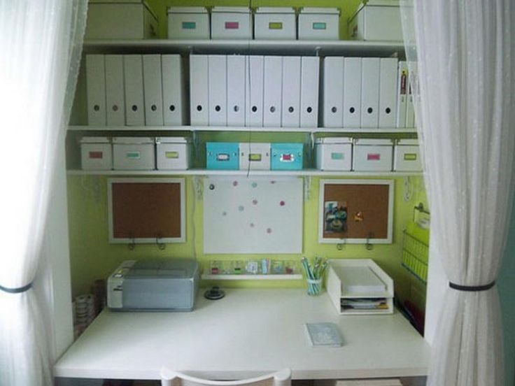 Home Office In Closet Ideas | Photography Above, Is Part Of Home Office  Closet Organization