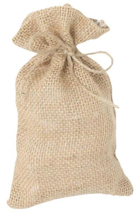 Jutesäckchen Hochwertig - praktisch - preiswert. Maße: 23x13 cm- 106003