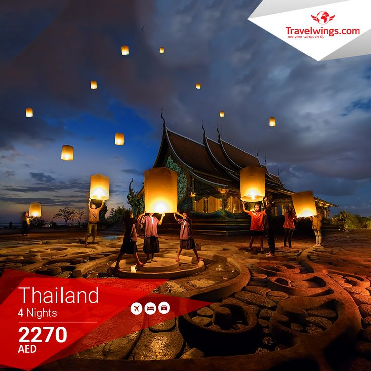 How about wandering through some exciting Coral Islands & vibrant Bangkok? Book your #Thailand holiday with us today!  http://www.travelwings.com/special-offers/thailand-holiday-package.aspx