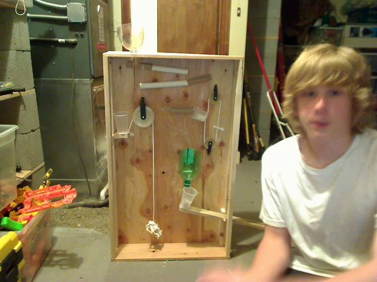 Finished rube Goldberg Machine