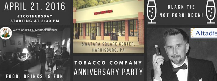 Tobacco Company News - the Big Announcement you've been waiting for!