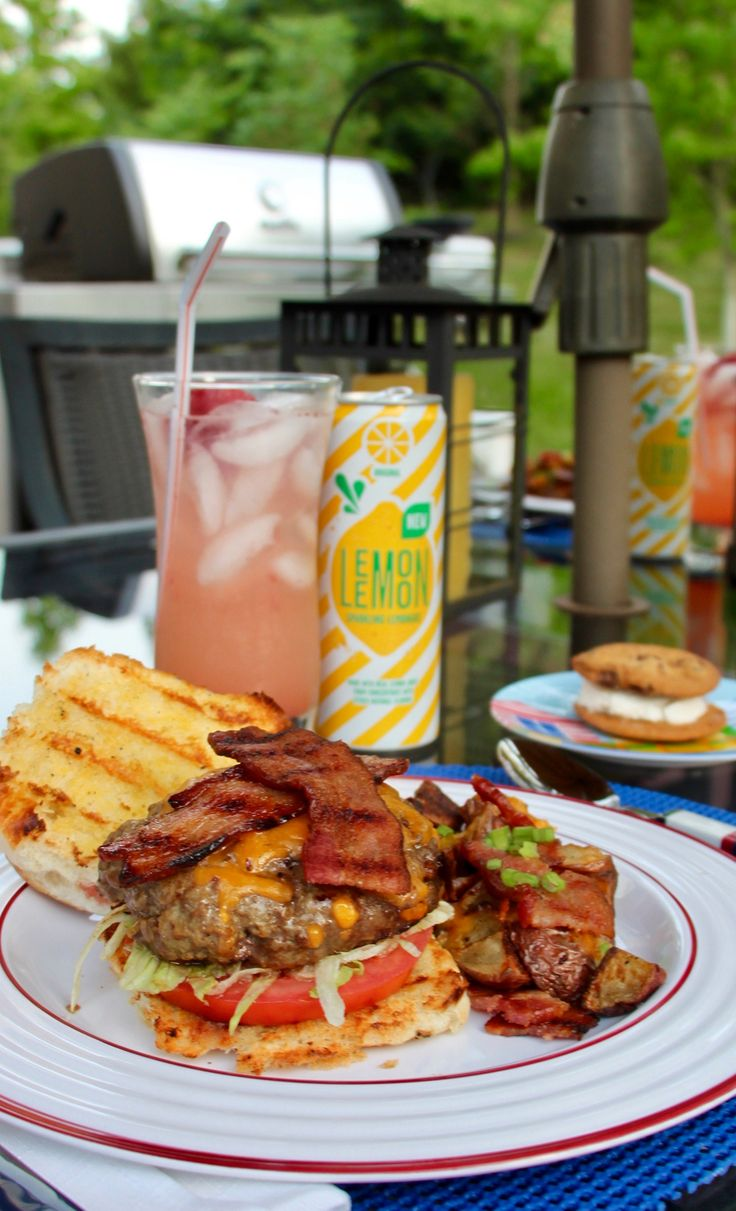 This is a great summer meal from start to finish! #GrillNGear