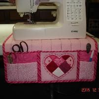 Sewing : Sewing machinecover caddy