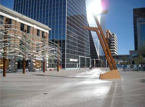 City Square, next to Victoria Park, downtown Regina, Saskatchewan