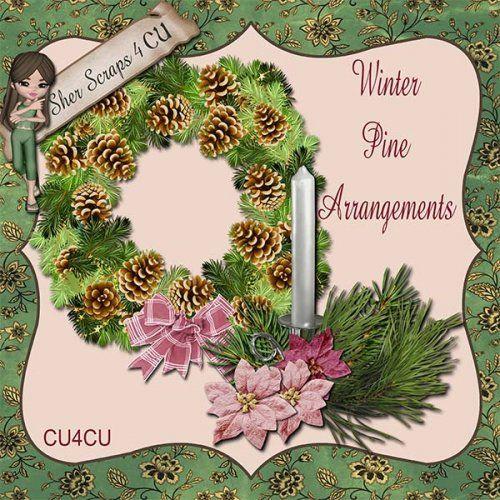 Winter Wonders Winter Pine Arrangements