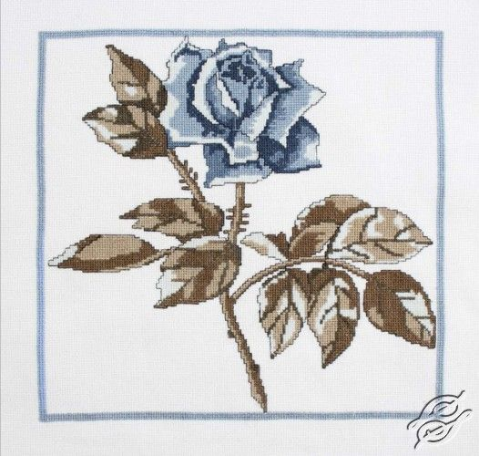 Roses of the Snow Queen - Cross Stitch Kits by RTO - M459