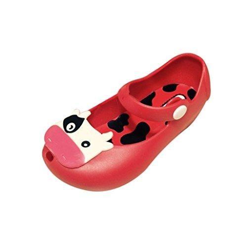 Oferta: 4.23€. Comprar Ofertas de Sandalias Zapatos De Verano Vaca Lechera Cabeza De Pescado Jalea Playa Para Niñas Niños - 29, Rojo barato. ¡Mira las ofertas!