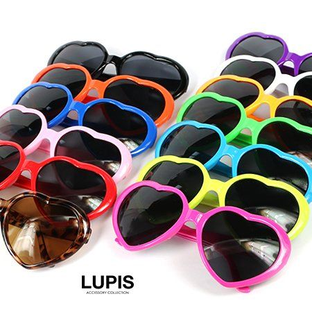 ハートサングラス-激安サングラスの通販販売-ルピス(LUPIS)