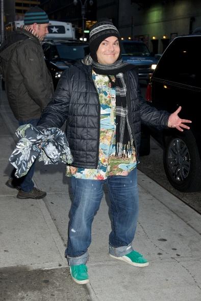 Celebrities stop by David Letterman