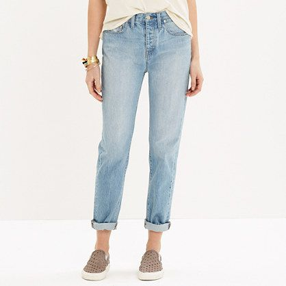 Madewell - The Perfect Summer Jean in Fitzgerald Wash