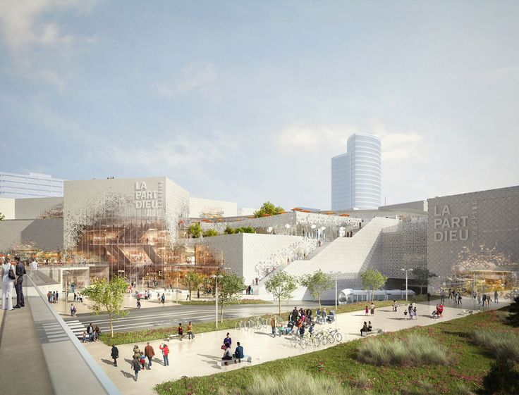 Part-Deiu mall renovation by MVRDV