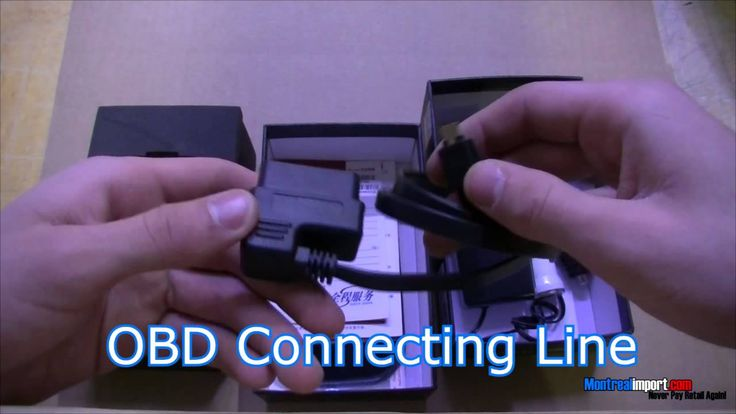Universal Car Safe OBD II HUD Head Up Display System http://www.montreal...