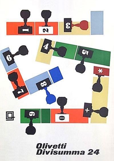 Olivetti Advert - Giovanni Pintori, 1954