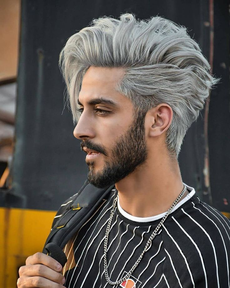 2020 Trend Hairstyle For Thin Hair Barberlife Barbershop Barbershopconnect Haircut Hair New Site Men Hair Color Mens Hair Colour Mens Hairstyles